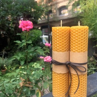 Rose Beeswax Candle (Flower Notes) Home Fragrance Series Gifts
