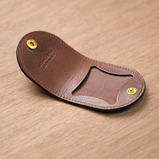 [NS handmade leather goods] horseshoe type coin purse, gift (free printing)