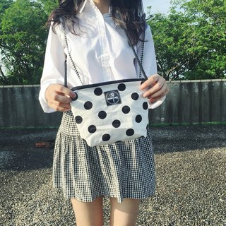 toutoubags / small square shoulder bag-classic dot