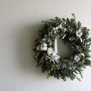 Hasen hand tied Nobesa Christmas wreath limited sale