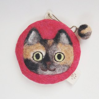 Cat face felt have various usage [tortoiseshell]