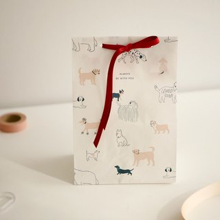 Packing gift bag set (10 in) -08 dog, E2D11512