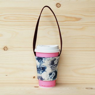 Gradation cherry drink bag/cup set