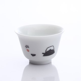 Renaissance of tea - short pot tea cup