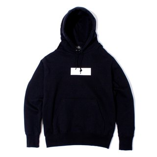 BOX LOGO PULL PARKA # BLACK