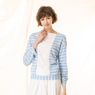 Boat leader wrinkles strappy striped breathable top