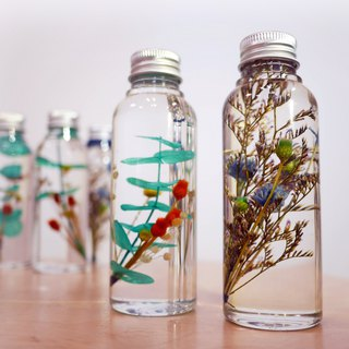 Natural flora phytoplankton specimen bottle two-piece set