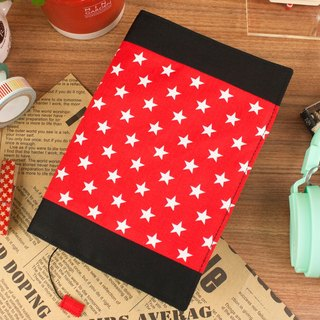 [Book's clothing] limited edition B6 / 32K adjustable multi-function cotton cloth book / cotton book cover-F stars