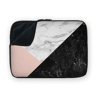 Marble Collage shock-absorbing waterproof laptop bag BQ7-MSUN7