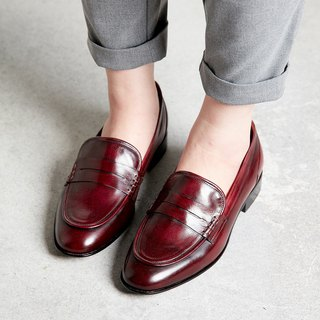 H THREE PENNY Carrefour shoes / flat / red / red
