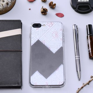 Geometry Circuit【Heart】Onor Crystals Phone Case