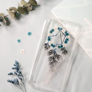 Libra Pressed Flower Dreamcatcher Phone Case | 12 Zodiac