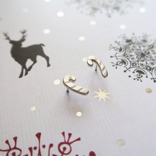 【★ Christmas Limited ★ ★ 925 sterling silver candy earrings earrings (a pair) / Christmas gifts / Christmas / gifts / exchange gifts / friends / lover