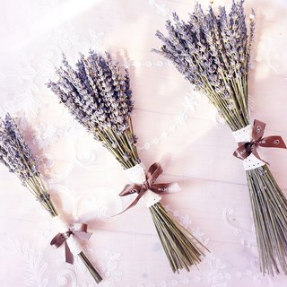 WANYI Lavender Bouquet (Small) Dry Flower / Home Decoration / Wedding Small Object / Valentine's Day / Fragrance
