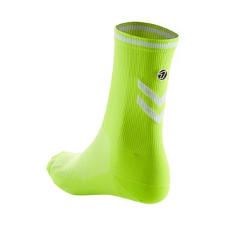Road Cycling Socks - fluorescent yellow