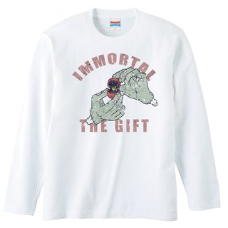 Long sleeve T shirt / immortal the gift