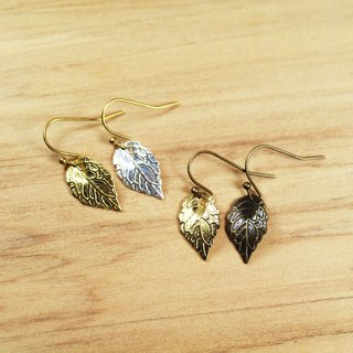 【Gold Lake】 If the earrings gold and silver gold models | clip-style earrings earrings can be changed for sterling silver needles | brass silver plated .18K gold. Bronze | natural stone earrings, Chinese ancient style jewelry E11