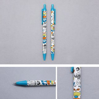 Flower Yang boy girl ball pen