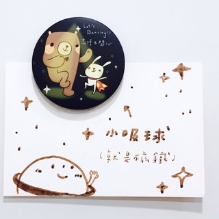 Small suction ball magnet │ Bunny Bear _ Superman _ just forget unhappy _44mm