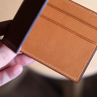 Bifold Wallet MC01  隨身鈔票夾 Italian leather buttero