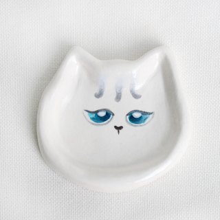 Cat storage small dish / ornaments / small dishes / exchange gifts