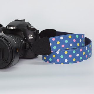 Pu.sozo cloth handmade marine pearl camera strap / camera rope / single-eye / single / double strap hole camera