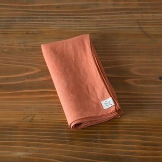 [SALE As long as stock] (color) plant dyeing linen wrapping cloth Niiro 7560 → 5400 yen