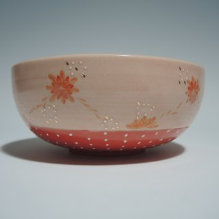 Flower Show Series: Red Orange Petal Bowl