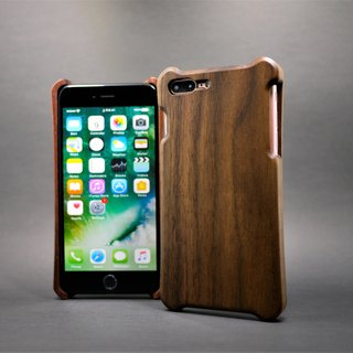 iPhone 5.5 inch walnut wood shell