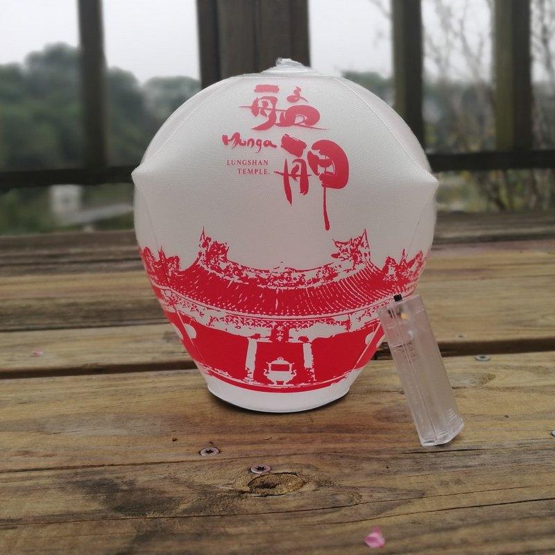 AirLight 文化燈飾 (艋舺龍山寺綠色光明燈)