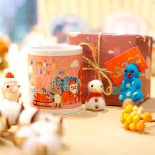 Lonely Planet Christmas Mug with Four Choices of Ceramic Coasters Limited Edition 10 Groups