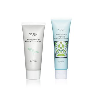 [Exclusive] Oriental Beauty Tea Balance Cleansing Cream 120mL+ Clean Mud 120mL