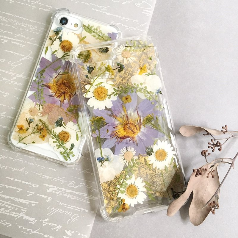 涟漪 dry flower phone case