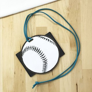 [Luggage Tag, Document Holder] Baseball Bag Tag