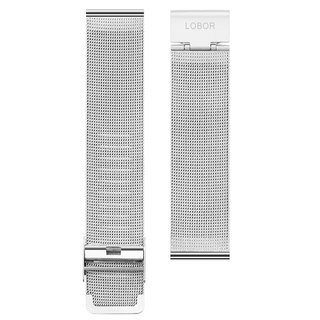 Stainless Steel Mesh Band stainless steel mesh with silver interchangeable strap function