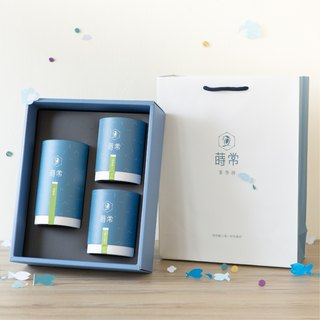 [莳常沁香礼盒] Biluochun / Cuiyu / Four Seasons Spring