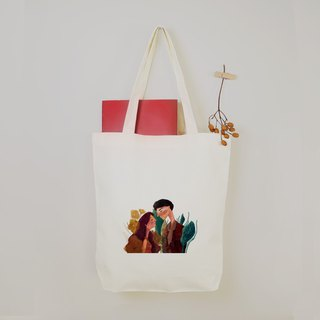 [Character Illustrator] Only you canvas bag in your eyes