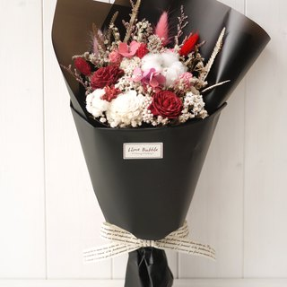 Affectionate Red Bouquet (Valentine's Graduation Bouquet)