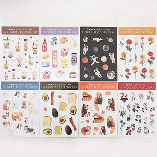 ANIMAL STICKERS SET (3 sheets)