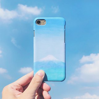 Clear sky and Mount Fuji-phone case iphone samsung sony htc zenfone oppo LG