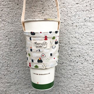 Drink sleeve-Rice ball