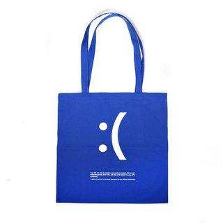 | 065 | blue-bottomed crying shoulder bag canvas bag environmental protection bag