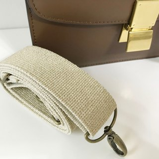 Hand strap cotton woven strap backpack back bandwidth strap can be adjusted to replace the canvas strap