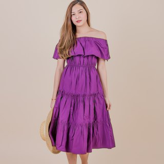 LILY DRESS / Grape