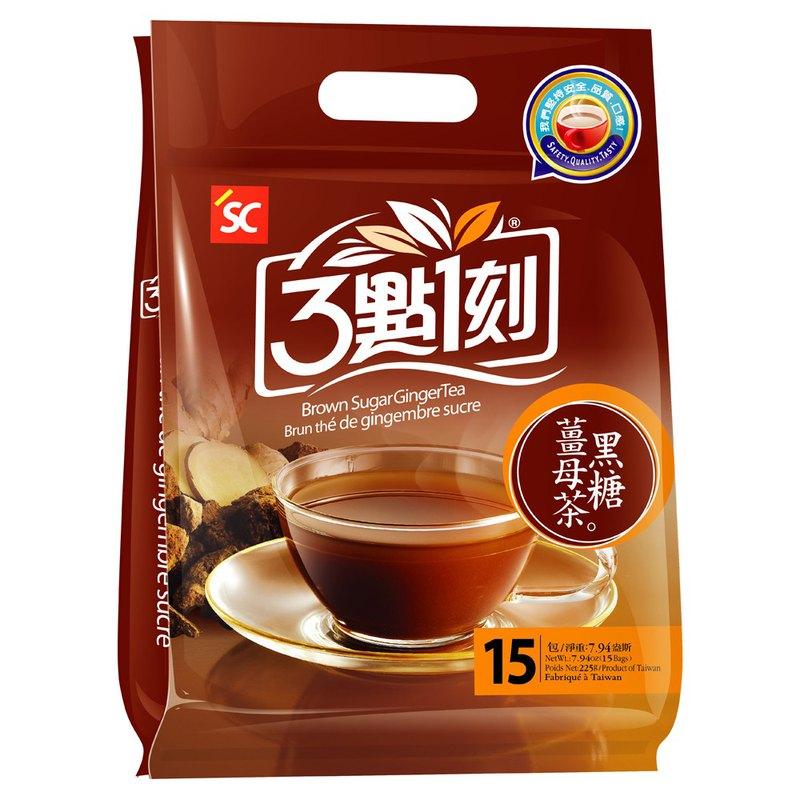【3點1刻】黑糖薑母茶 15入/袋