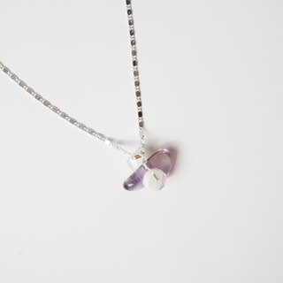 [] Pure hand-made natural stone necklace X