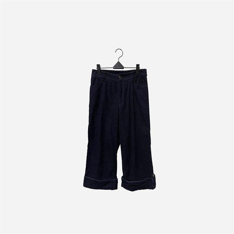 脫臼古著 / 燈芯絨五分褲 no.1437 vintage