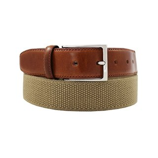 LAPELI │ Belgian elastic fabric belt - plain little brown