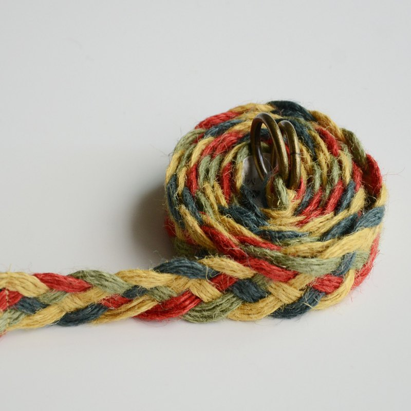 Japanese Hemp Braided Long Belt