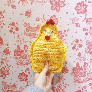 Knitting Chick Doll